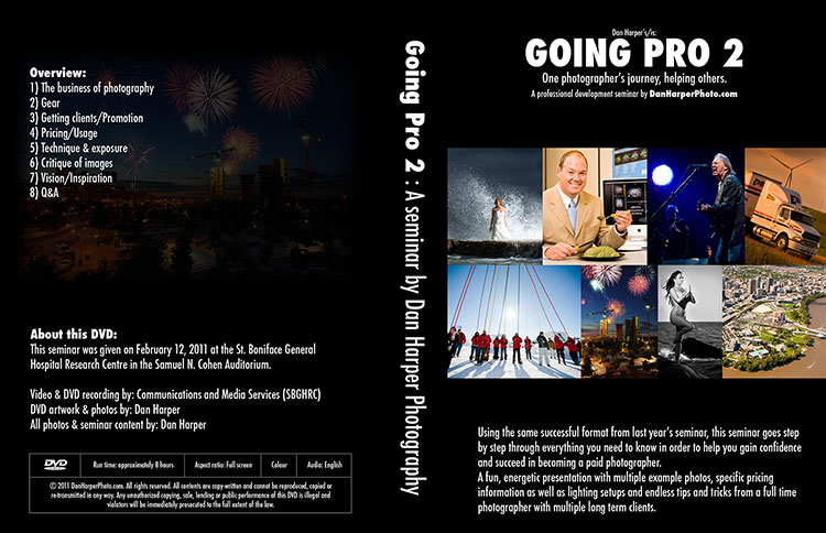 Going Pro 2 DVD for photographers
