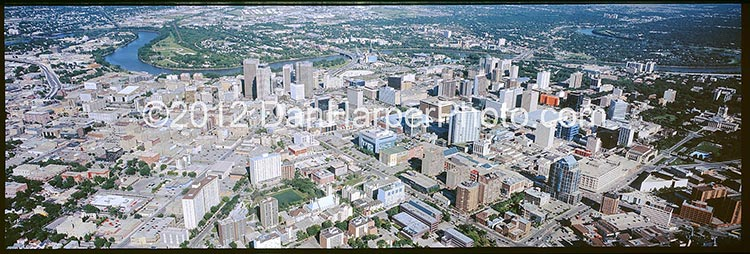 Winnipeg aerial photography