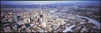medium format panoramic landscapes from helicopter, winnipeg