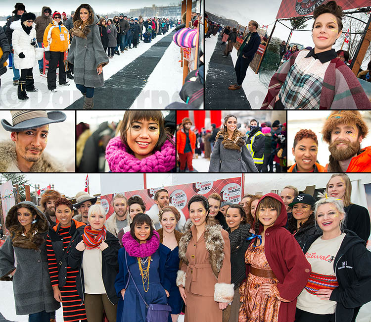 Festival du Voyageur - Fashion on ice