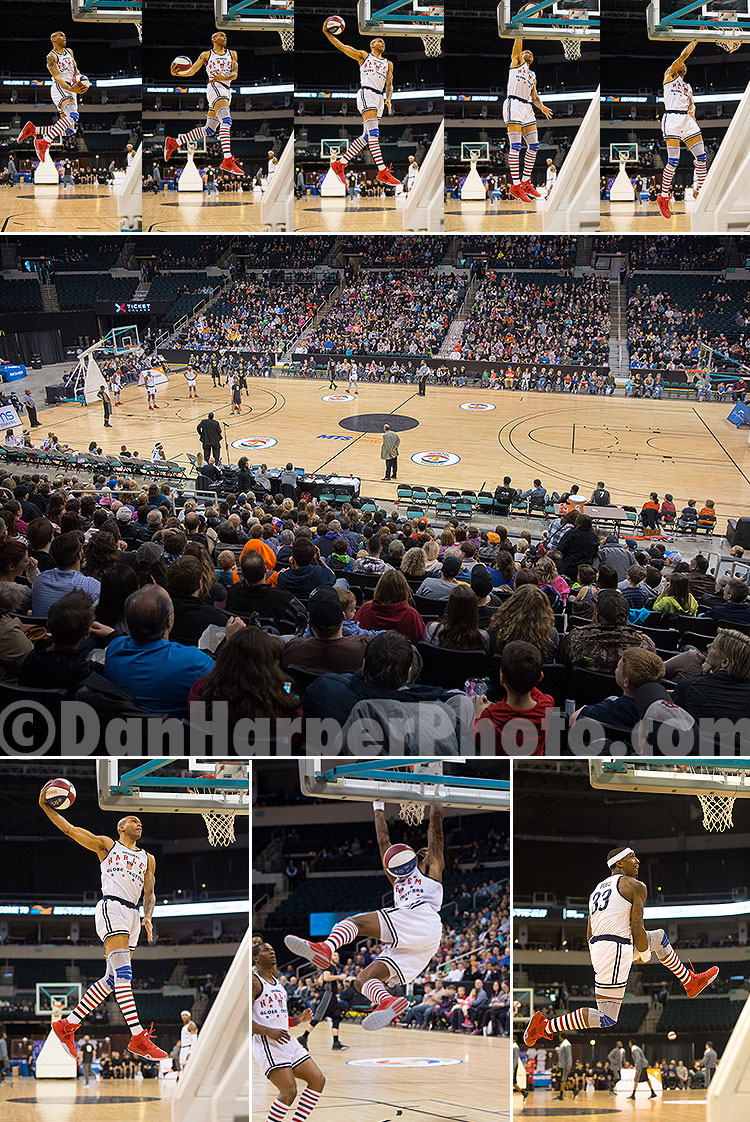 Harlem Globetrotters at the MTS Centre, Winnipeg
