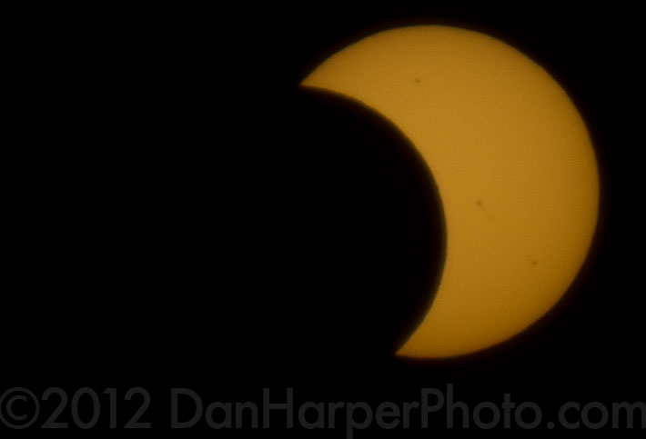 Stock photography solar eclipse 2012