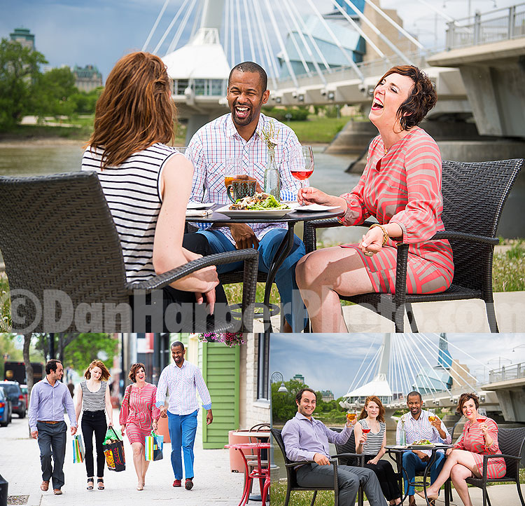 Promotional photography: Tourisme Riel & CDEM