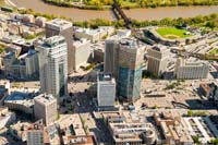 Winnipeg aerial stock photos